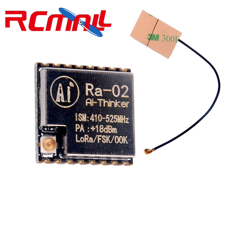 433M Lora Wireless Module SX1278 Ra-02 10KM IPEX Socket With FPC Antenna 5dbi IOT For Smart Home