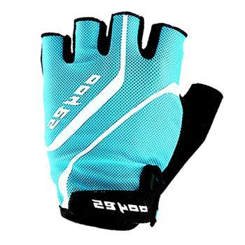 Kolarstwo mężczyźni i kobiety pół palca Fitness rękawiczki sportowe rowerowe amortyzacja antypoślizgowe rękawiczki rękawiczki sportowe akcesoria tanie i dobre opinie Lycra Wodoodporna Cycling Gloves