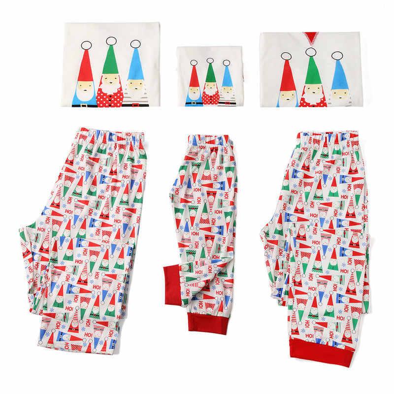 ครอบครัวชุดนอนคริสต์มาสชุดอุ่นผู้ใหญ่เด็กเด็ก Mommy ชุดนอนชุดนอนแม่ลูกสาวลูกชายพ่อเสื้อผ้าการจับคู่