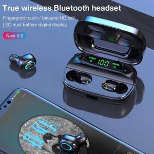 Image 4 - Trer fones de ouvido fone de ouvido tws 5.0 bluetooth fone de ouvido led display digital fone de ouvido dinâmico baixo som ecouteur auriculares cuffie