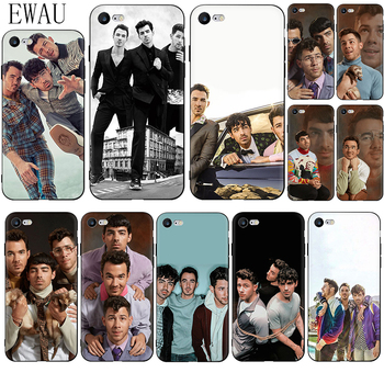 EWAU Jonas Brothers Soft Silicone phone case for iphone 12 Mini X XR XS 11 Pro Max SE 2020 5 5s SE 6 6s 7 8 plus image