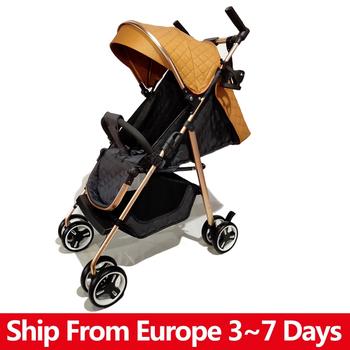Składany wózek dziecięcy wysokie światło krajobrazu waga przenośny wózek podróżny wózek dziecięcy noworodek dziecięcy wózek nosidło wózek dziecięcy tanie i dobre opinie copsean W wieku 0-6m 7-12m 13-24m 25-36m CN (pochodzenie) 15KG Numer certyfikatu Baby Stroller