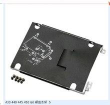 NUOVO PER HP ProBook 430 440 445 450 G6 Supporto del Disco Rigido Caddy Frame w/Viti