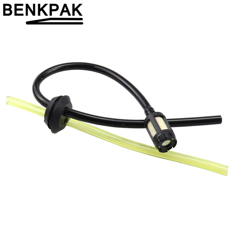 Replacement Fuel Hose Pipe with Tank Filter for Strimmer Trimmer Brush Cutter