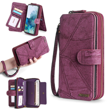MEGSHI For iPhone 11 Case Wallet PU Leather Multifunction handbag Phone Case For iPhone 6 6S Plus 7 8 X Xr XS 11Pro Max SE2020