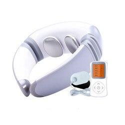 Neue Zervikale Massager Pulse Infrarot Tragbare Magnetische Therapie Elektrische Nackenschutz Persönliche Gesundheit Pflege