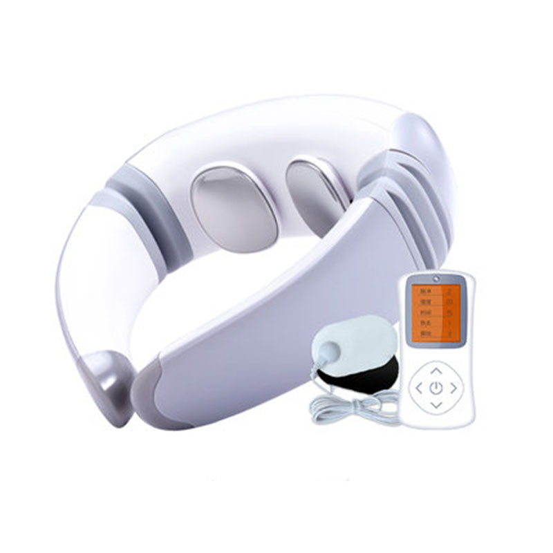 New Cervical Massager Pulse Infrared Portable Magnetic Therapy Electric Neck Guard Personal Health Care