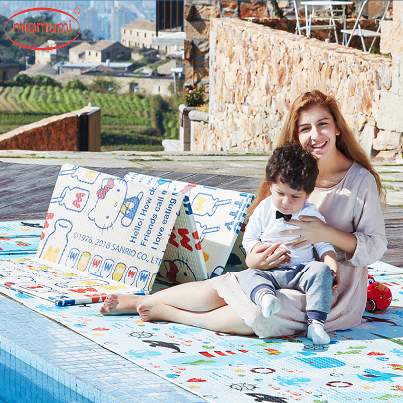 Miamumi Foam Child Carpet Baby Mat Baby Play Mat Blanket Carpet For Children Children's Rug XPE Sheet Kids Educational Mat Bebe