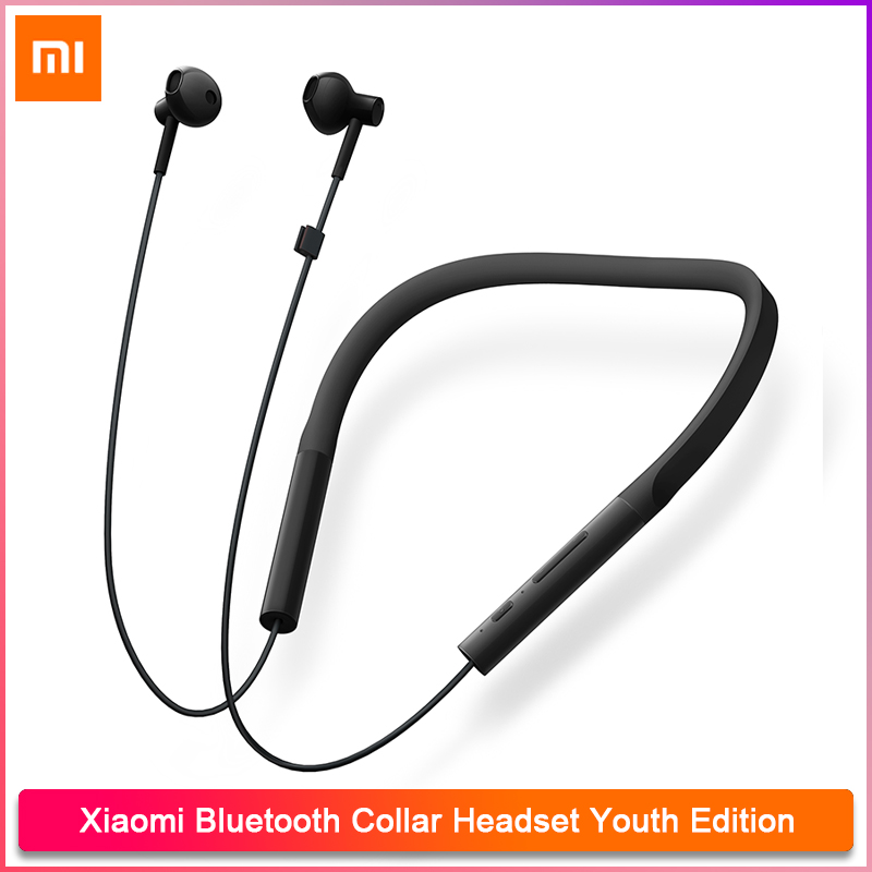 Xiaomi Bluetooth Collar Headset Youth Edition Wireless Wired Earbud Original Xiaomi Earphone 7 Hours Music Time Hd Sound Quality Bluetooth Earphones Headphones Aliexpress