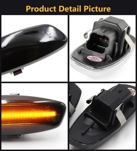 Image 5 - Intermitente de señal LED de posición lateral dinámico para Citroen C4 Coupe Picasso C3 C5 X7 DS3 DS4 Peugeot 207 308 3008 5008 RCZ Partner