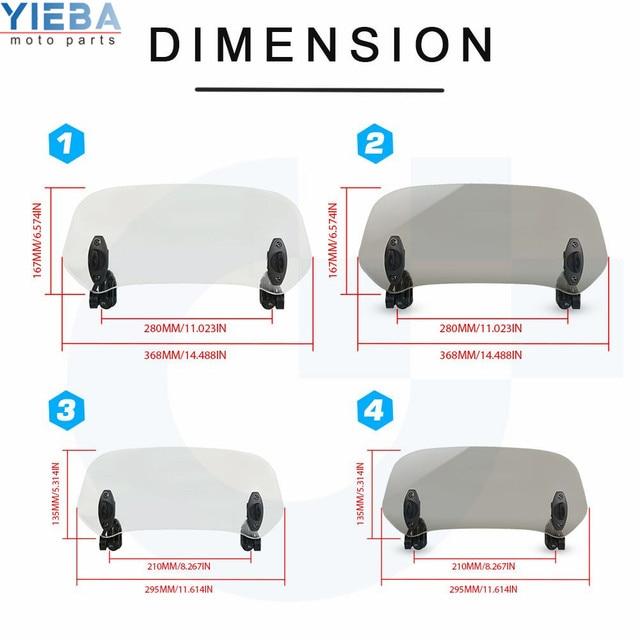 регулируемый расширитель ветрового стекла для мотоциклов honda фотография