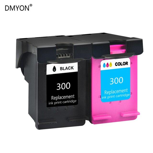 DMYON Replacement for HP 300XL Ink Cartridges Envy 110 114 120 100 Photosmart 4690 4750 C4600 D110a