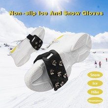 Shoes-Cover Crampon Essential Men for Women A1122 Cleats Spikes-Grips Snow-Ice-Claw Anti-Slip