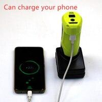 ミルウォーキーため N12 M12 12V 充電器とポータブル電源 USB コンバータ (バッテリなし) -