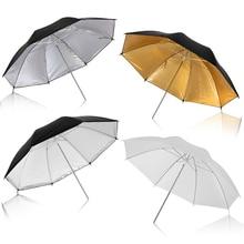 """4 adet 80cm 33 """"fotoğraf fotoğraf Pro stüdyo yumuşak saydam beyaz difüzör şemsiye stüdyo lambası için flaş aydınlatma"""