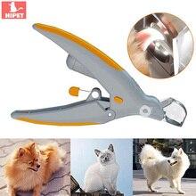 Профессиональная машинка для стрижки ногтей для кошек и собак, ножницы для ухода за домашними животными, светодиодный светильник, s светильник, 5X увеличение, триммер для ногтей для собак