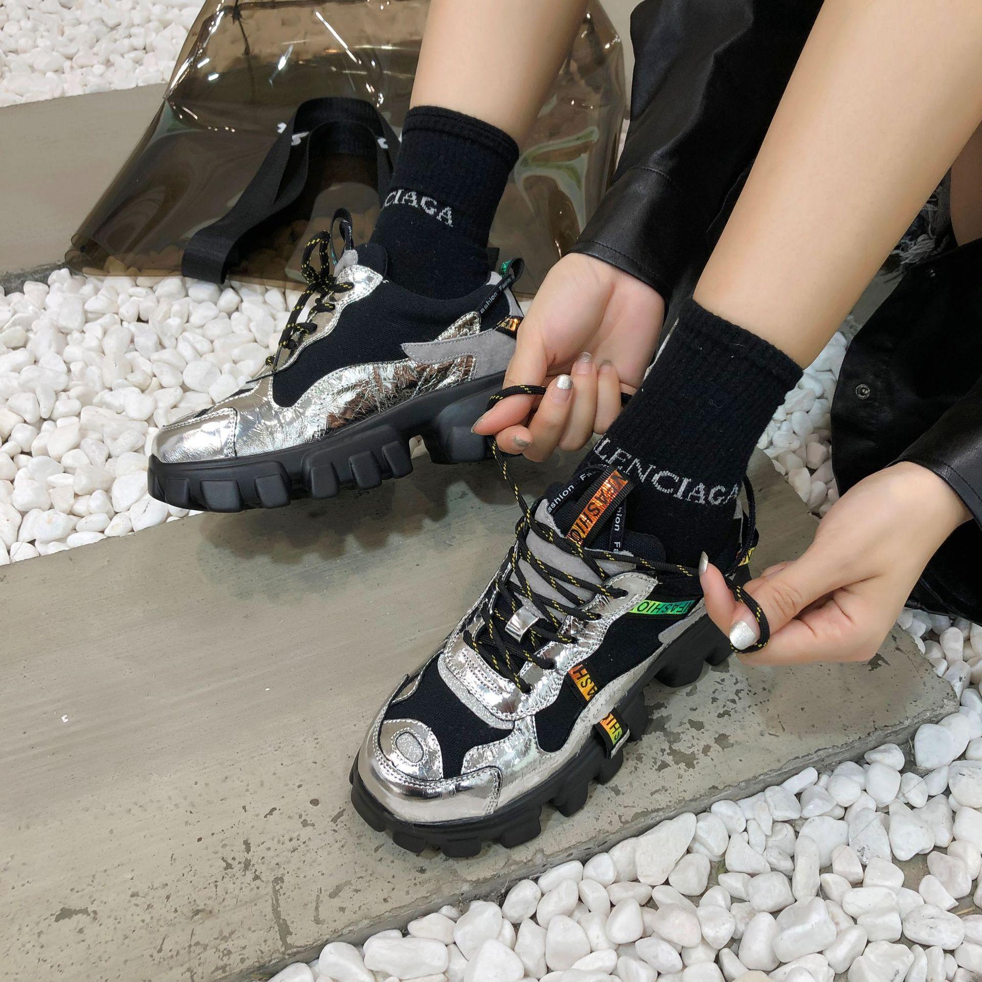 Women Autumn Chunky Sneakers 6