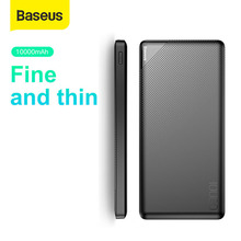Baseus 10000mAh Power Bank For iPhone Xs Max Samsung Xiaomi
