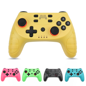 Image 1 - Game  Controller For Switch Console with 6 Axis  Wireless Bluetooth Gamepad For Nintendo Switch Pro Controller NS Switch