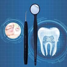 Teeth Whitening Dental Mirror Kit  Engineer Plastic Scraper Cleaning Tool Oral Hygiene Kit