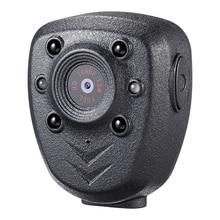 HD 1080P полицейская тела нагрудные носить видео Камера DVR ИК Ночное Видимый светодиодный светильник Cam 4 часа Запись Цифровой Mini DV Регистраторы голос 16G
