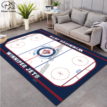 ice hockey carpet Anti-Skid Area Floor Mat 3D Rug Non-slip Mat Dining Room Living Room Soft Bedroom Mat Carpet style-06