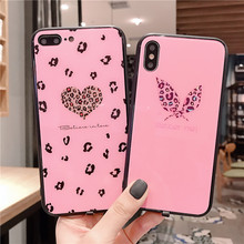 Sound Control LED Flash Phone Case For iPhone 6 6S 7 8 Plus Luxury Calls Tempered Glass Cover X XS MAX XR
