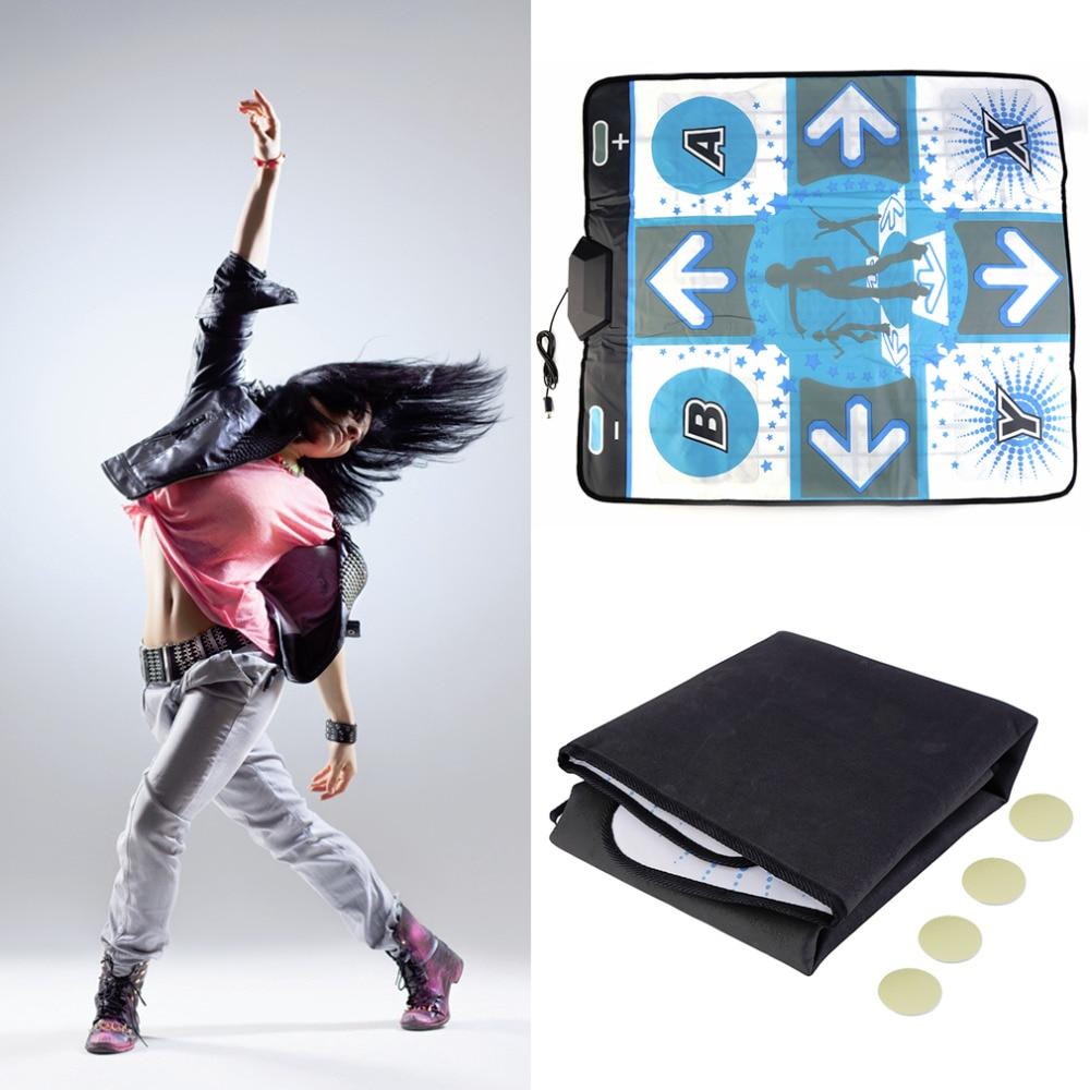 Anti Slip Dance Revolution Pad Matte Tanzen Schritt für WII für PC TV Heißesten Party Spiel Zubehör-in Yuga-Matten aus Verbraucherelektronik bei title=