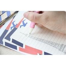 2 шт/лот корейский милый мультяшный цветной бумажный конверт