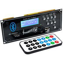 LEORY Araba bluetooth ses şifre çözücü Kurulu MP3 Çalar Kod Çözme Modülü için USB Aux ile DIY Amplifikatörler Kurulu Ev Sineması