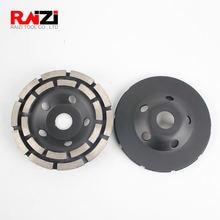 Raizi 5 дюймов/125 мм Алмазный шлифовальный диск для бетона
