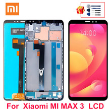 Pantalla LCD de 6,9 pulgadas para móvil, montaje de digitalizador con pantalla táctil para XIAOMI Mi Max 3, piezas de repuesto para pantalla LCD