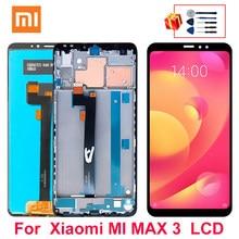 6.9 polegada para xiaomi mi max 3 display lcd tela de toque digitador assembléia para mi max 3 display lcd peças reposição