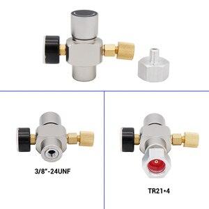 Image 5 - 2 で 1 sodastream CO2 ミニガスレギュレータCO2 充電器TR21*4 0 30 psi樽充電器ヨーロッパソーダストリームビールkegerator