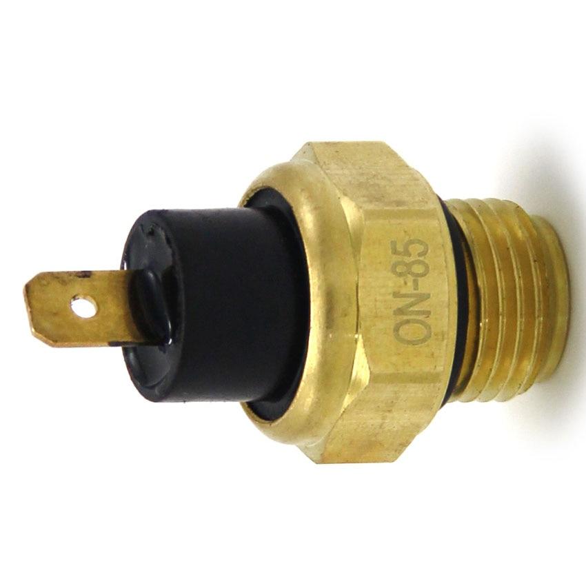 Radiator Fan Thermo Detect Switch For Honda CB400F CB400 CB400SF VTEC NT650 Deauville Hawk GT VF1000R Interceptor VF700F Magna