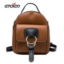Новинка 2020 Женский дорожный рюкзак школьная сумка высококачественный
