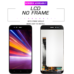 Image 2 - Pantalla LCD de 5,5 pulgadas AAA para móvil, repuesto de marco para digitalizador, para xiaomi mi a1, A1, 5x