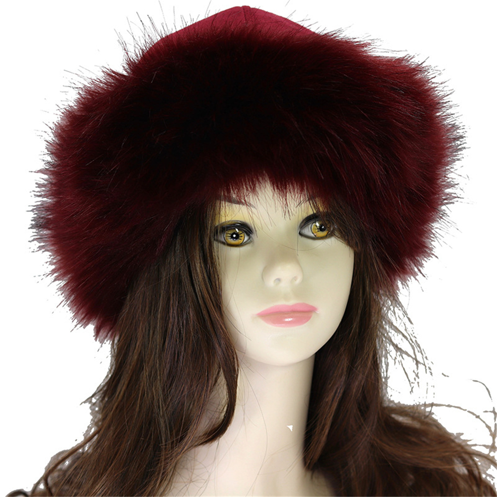 Mongolian Russian Faux Suede Fur Bomber Hats Women Mens Winter Snow Warm Thermal Hats Caps Beanies Thick Earflap Windproof Cap