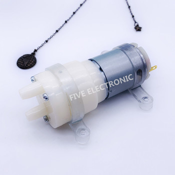 12V 385 Micro DC Self-Priming Lift Pump Gear Motor for Tea Stove Set Water Dispenser image