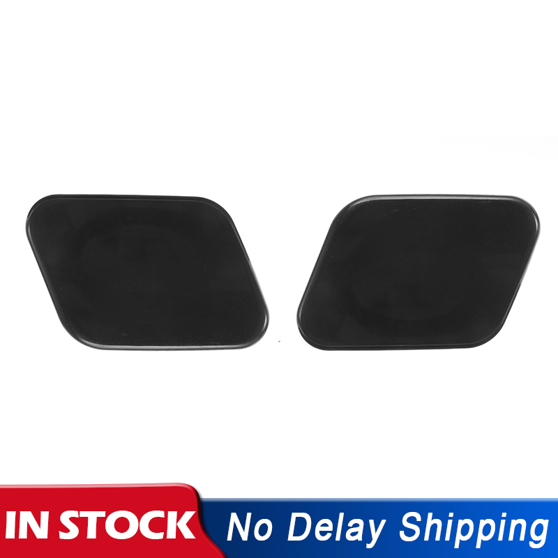 Left /& Right Headlight Washer Nozzle Jet Cover Cap For Nissan Qashqai J10