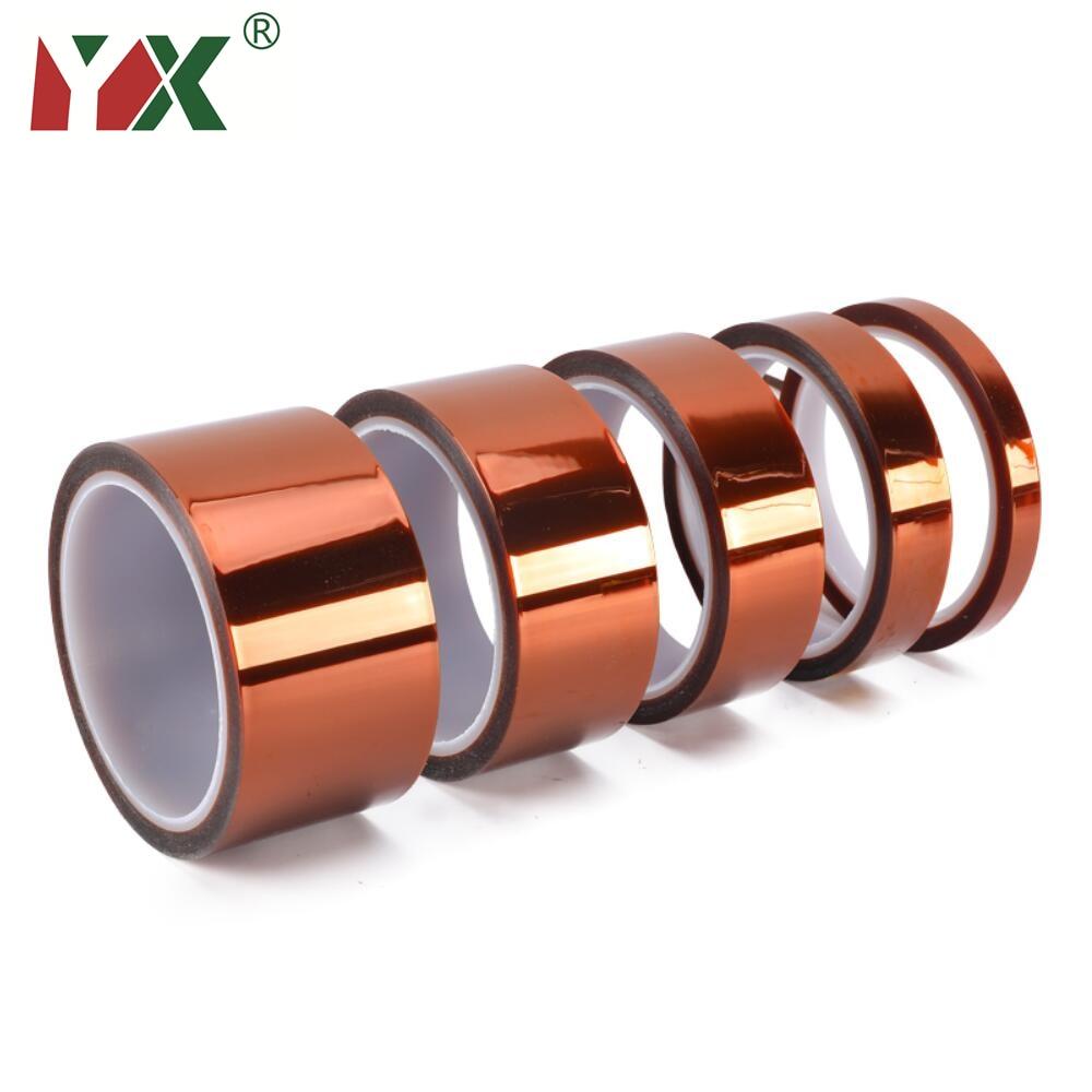 3D Printer Parts High Temperature Resistant Heat BGA Kapton Tape Polyimide Insulating Thermal Insula