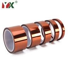 3D Printer Parts High Temperature Resistant Heat BGA Kapton Tape Polyimide Insulating Thermal Insulation Adhesive Tape