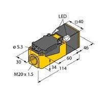Proximity Switch Sensor Inductive Sensor BI15-CP40-FZ3X2 free shipping 100% new bi20 cp40 ap6x2 proximity switch sensor