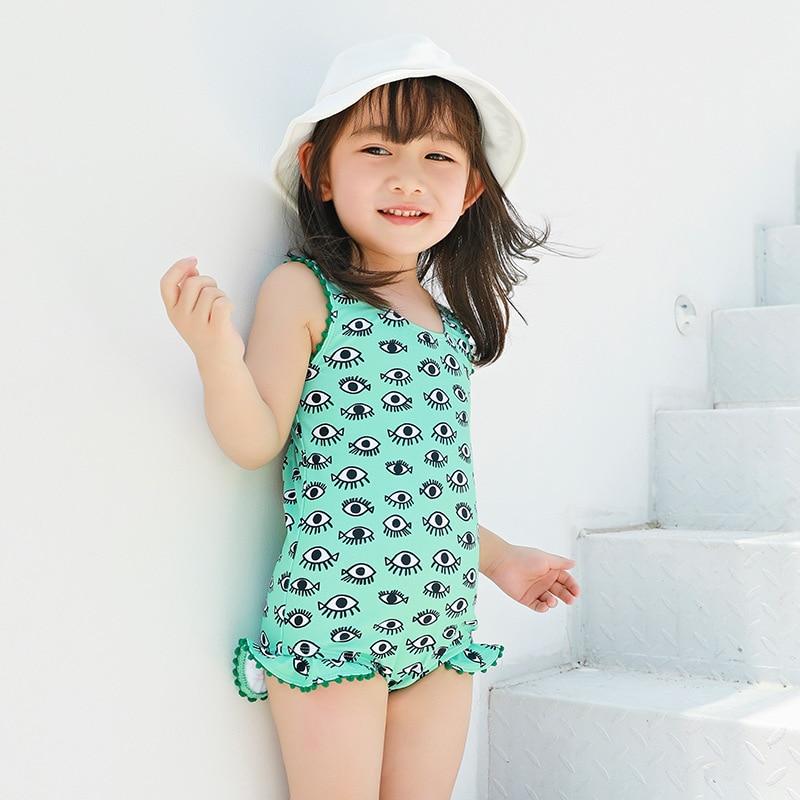 KID'S Swimwear GIRL'S Girls South Korea Cute Skirt Tour Bathing Suit Baby Infant One-piece Small CHILDREN'S Princess Bikini