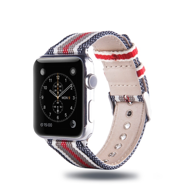 Suitable For APPLE Watch 38 Mm Three Generations Second Generation Universal Simple Popular Nylon Watchband