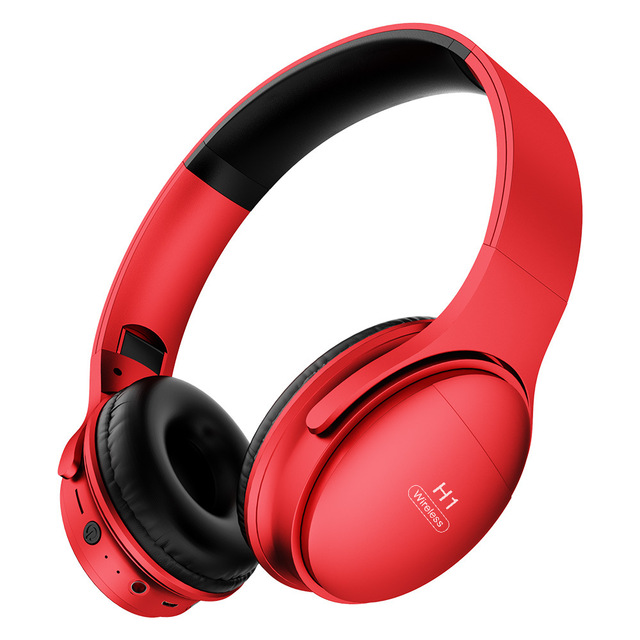 H1 Pro Wireless Gaming Headset HD HIFI Stereo Noise Canceling Hands free Bluetooth V5.0 Headphone with TF Card Slot Mic Earphone