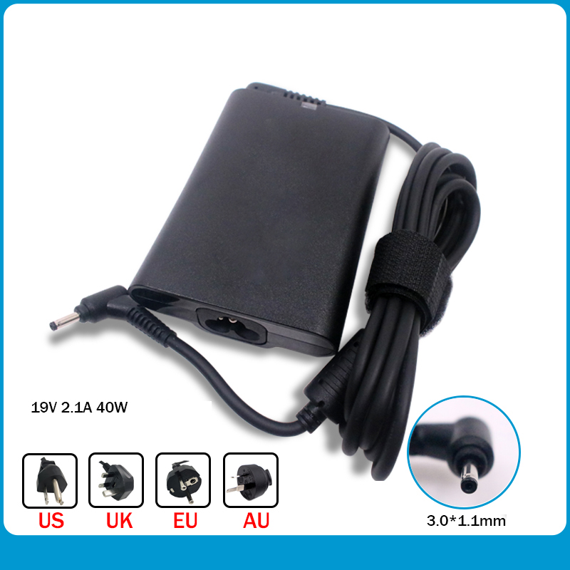 19V 2.1A 40W 3.0*1.1mm PA-1400-24 AC Power Laptop Charger For Samsung Series 3 5 7 9 AD-4019SL NP500P4C NP520U4C Power Supply