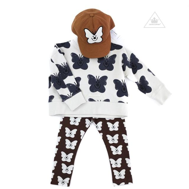 Kids Clothes Sets New Spring Toddler Boys Girls Sweatshirt Harem Pants Brand Fashion Clothing Baby Sweatshirts Children Tops Tee 4