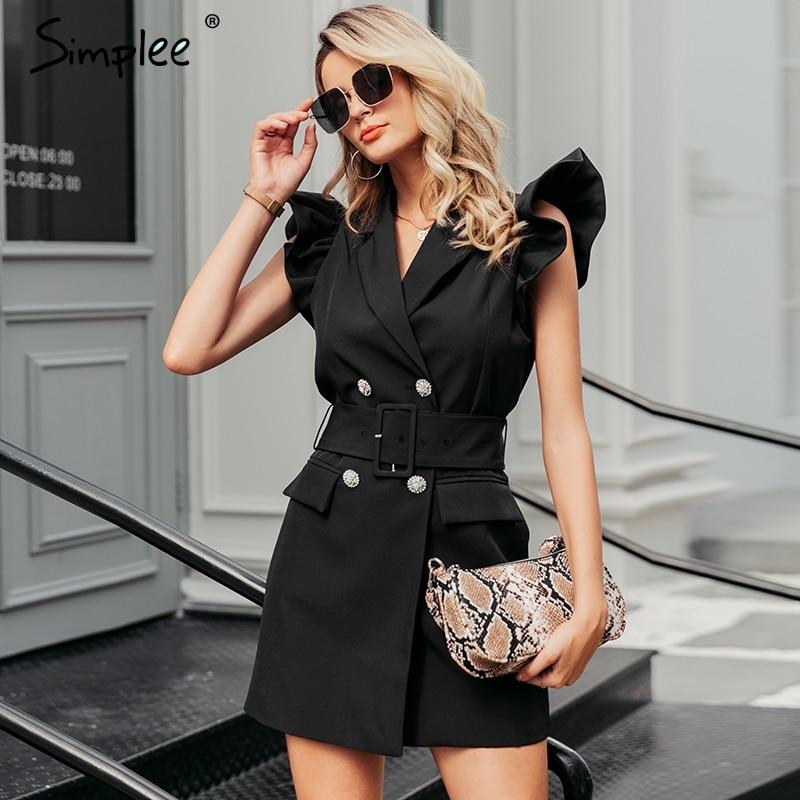 Dress Black ladies party bodycon dress suits 1