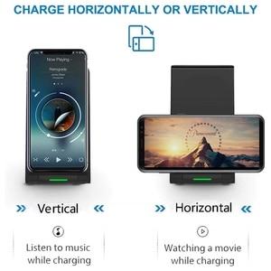 Image 5 - DCAE 15W Qi bezprzewodowa ładowarka stojak Pad dla iPhone 12 11 Pro X XS Max XR 8 10W szybka stacja dokująca do Samsung S20 S10 S9
